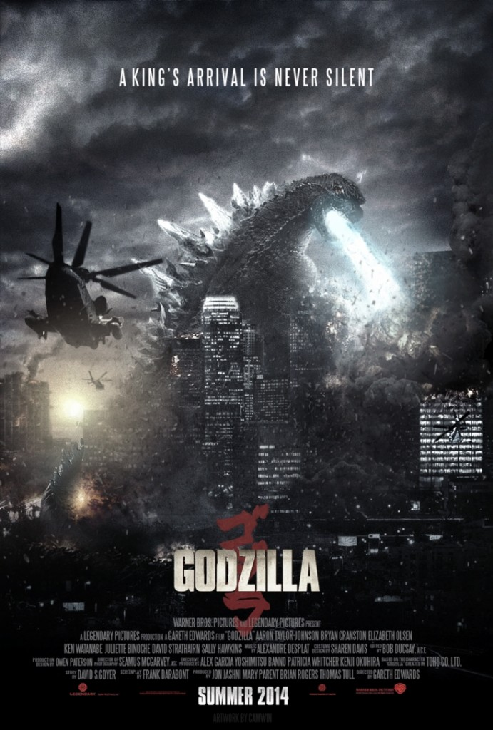 Godzilla Fan Made Poster
