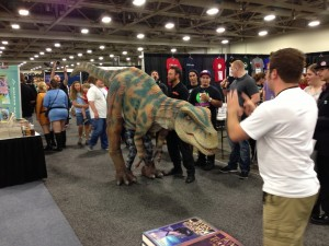 Comic Con Tips Cosplay Dino