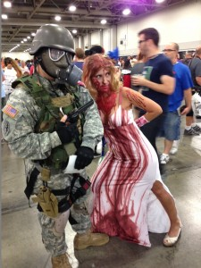 Comic Con Tips Cosplay Soldier