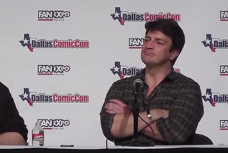 Dallas Comic Con - 2014 - Nathan Fillion - YouTube