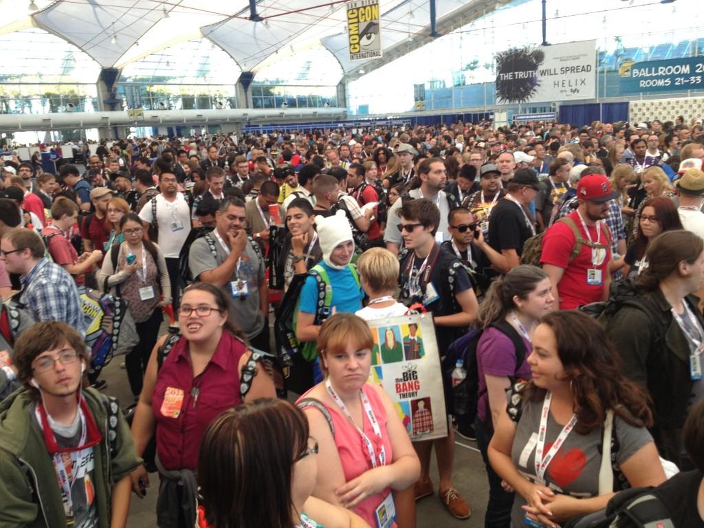 Comic Con Line