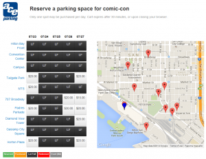 Ace Parking Online Reservations - Reserve Parking
