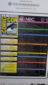 Comic Con Tips SDCC Bus Schedule