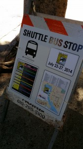 Comic Con Tips SDCC Bus Stop