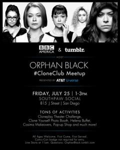Orphan Black Meetup