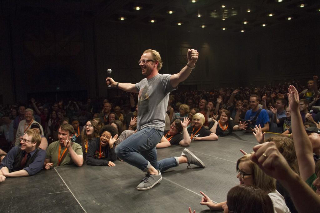 Simon Pegg Selfie