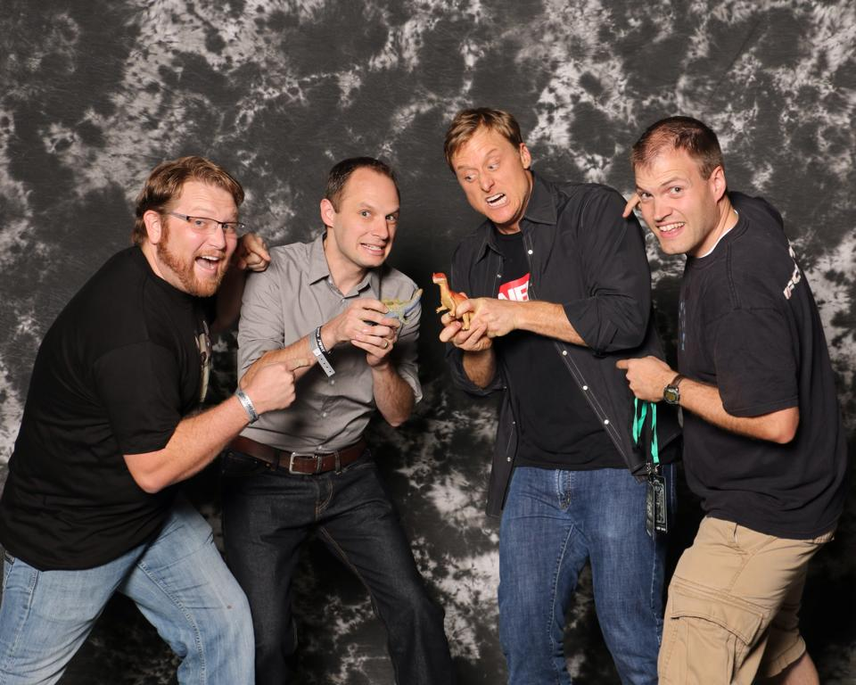 Alan Tudyk Comic Con Group Photo