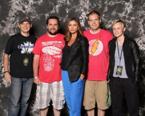 Charisma Carpenter Comic Con Group Photo