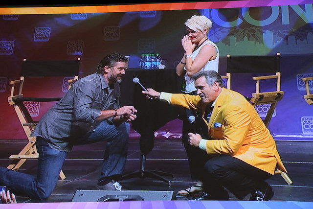 Comic Con Tips Bruce Campbell Proposal