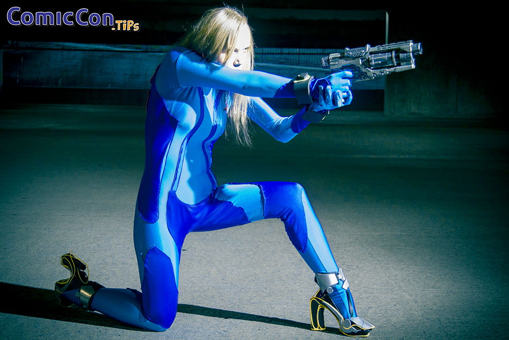 Cosplay Meet Greet Ainsley As Zelda Samus Aran Comic Con Tips