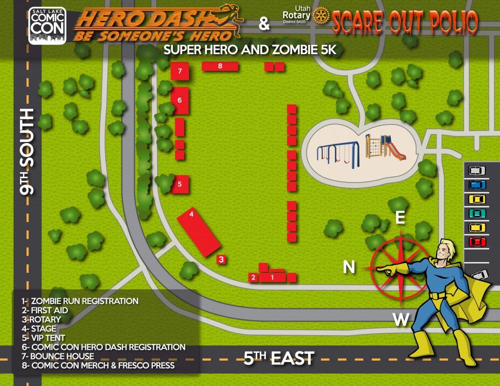 hero dash map