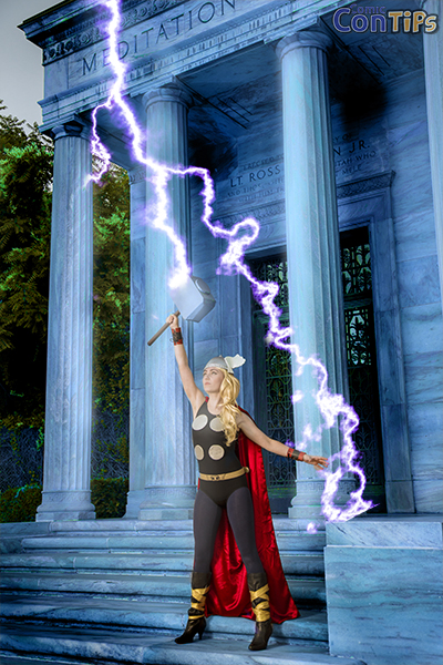 Megan Golden as THOR small