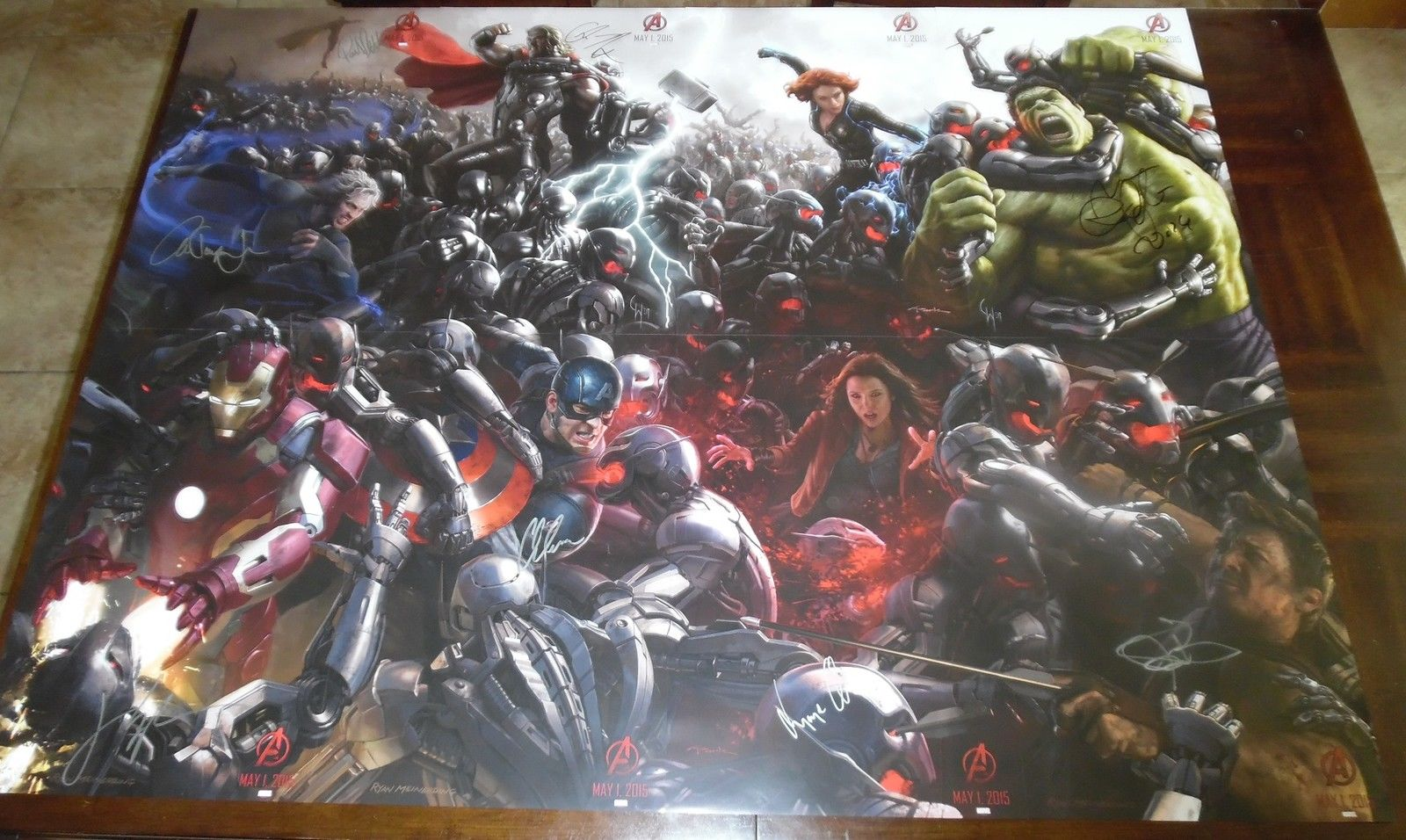 Age of Ultron SDCC 2014 Exclusive Signed