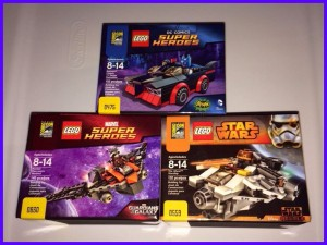 SDCC 2014 Lego Exclusives