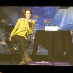 Felicia Day panel sitting