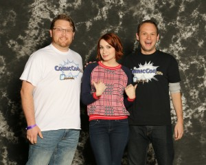 Felicia Day photo op